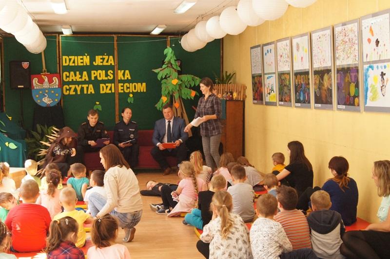 """Zdjęcia z """"Dzień Jeża"""" Cała Polska Czyta Dzieciom 12"""