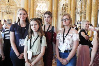 Kępińska młodzież naOgólnopolskiej Prezentacji Projektów Młodzieżowych wWarszawie