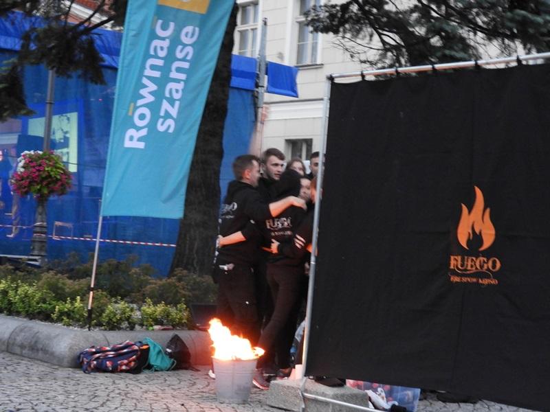 I-grając z ogniem - taniec finałowy