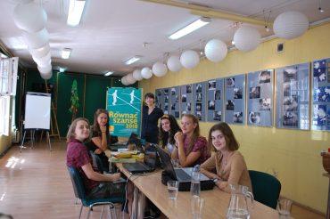 """Kolejne spotkanie grupy młodzieżowej zprojektu """"Wolnościowa Gra miejska"""""""