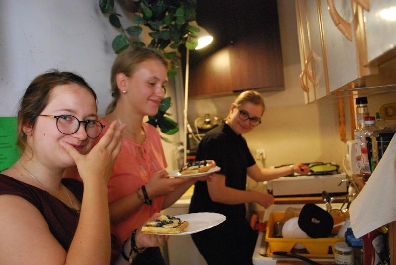 Gotowanie w strefie młodych