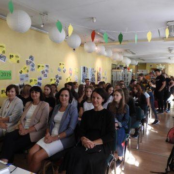 Dożynki Młodych wbibliotece powiatowej czyli finał projektu Równać Szanse wKępnie
