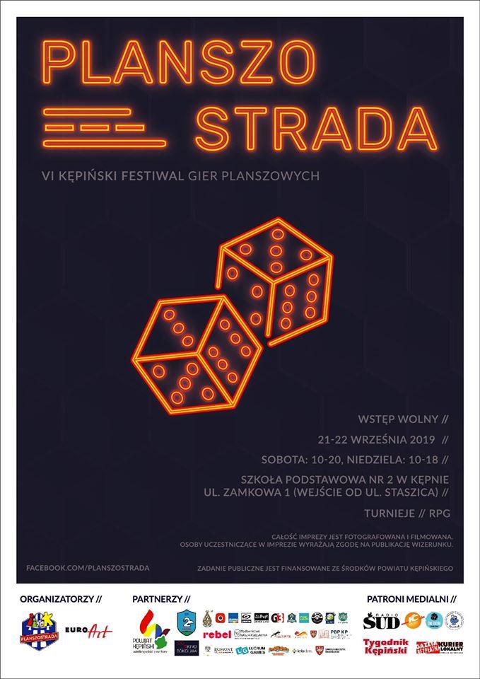 Planszostrada Festiwal Gier Planszowych