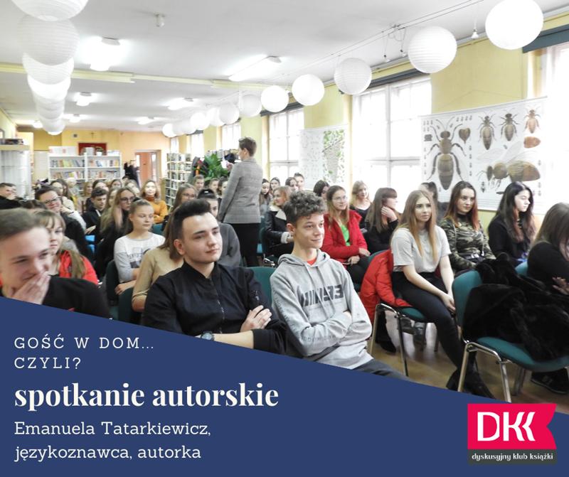 spotkanie autorskie z Emanuela Tatarkiewicz 05