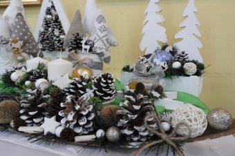Świąteczna wystawa prac uczniów zZSS wSłupi podKępnem
