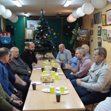8.12.2019  Zebranie Zarządu Powiatowego Koła Pszczelarzy wKępnie