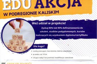 """EduAkcja wpodregionie kaliskim"""