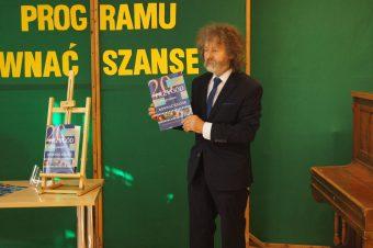 """Spotkanie promujące wydawnictwo: """"20 przygód zProgramem Równać Szanse"""""""