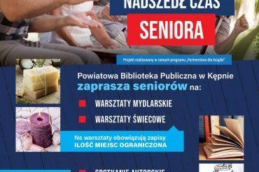 """Projekt biblioteki """"Nadszedł czas seniora"""""""
