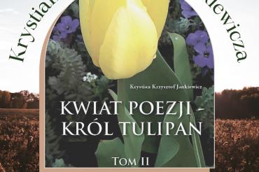 Zaproszenie napromocję tomiku poezji Krystiana Krzysztofa Jankiewicza